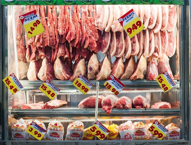 スーパーの食品表示